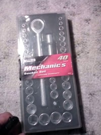 Socket wrench set 40pcs