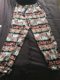 white, black, and red floral pants Walnut Creek, 94597