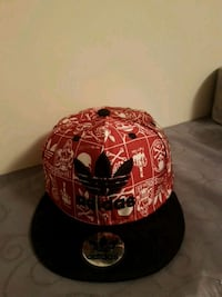 red and black New Era 9Fifty snapback cap Spruce Grove, T7X 4B2