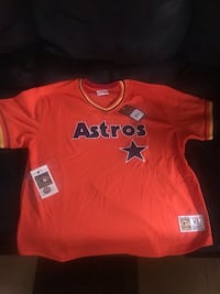Houston Astros Baseball Jersey Mitchell & Ness size XL NEW with tags Newark, 19702