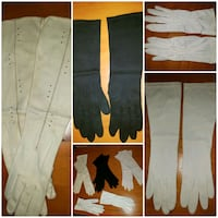 Lot of 4 vintage womens gloves