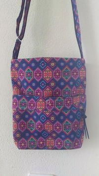 purple and pink handmade mexican small bag Calgary, T1Y