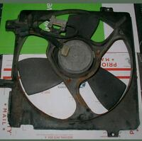 Saab 9000 Engine Cooling Fan Unit Shroud Assembly