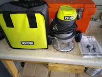 Ryobi Router, as new with bits. Lake Elsinore, 92532