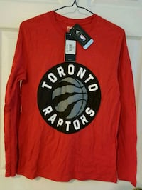 Various BNWT Raptors Shirts