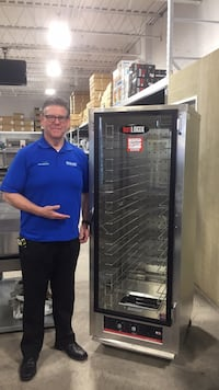 HotLogix Humidified Holding Cabinet/Heater Proofer  MINOR SCRATCH & DENT - NO WARRANTY 545 km