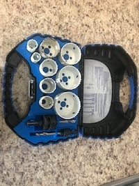 Mastercraft hole saw set used onec Brampton, L6R 1K1