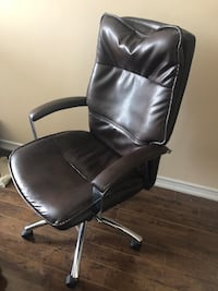 office lather chair