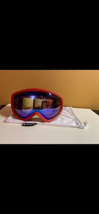 blue and red sports sunglasses 376 mi