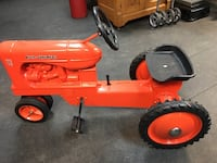 Allis Chalmers WD-45 Joseph Ertl Signed 50th Anniversary Pedal Car  Wellsville, 17365