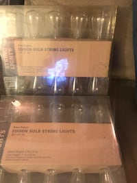 Edison Bulb String Lights  Remington, 22734
