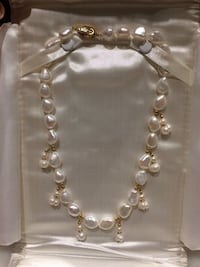 Custom Made Pearl Necklace Vaughan, L4H