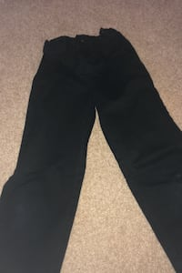 Boys Size 10 black pants.