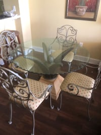 brown wooden dining table set Panama City Beach, 32407