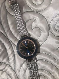 black and blue analog watch Sterling Heights, 48311