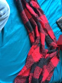 Red Plaid Wrap-Around Scarf O Fallon, 63366