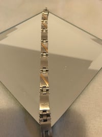 Stainless Steel with 14k gold bracelet Mississauga, L5V 2Y8