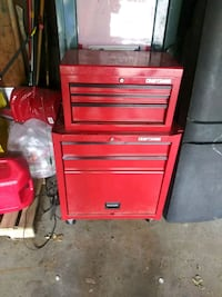 red Snap-On tool chest Kent, 44240