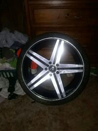"""20"""" verde parrelax 1 rim for a spare..20×9.5 Chattanooga, 37406"""