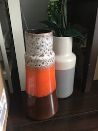 Orange decorative vase  Toronto, M5G