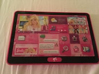 Barbie play tablet... talks and plays different things