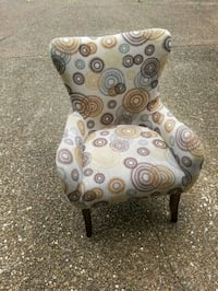 brown and gray floral padded armchair Nashville, 37207