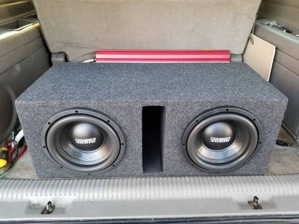 Photo 2 Set of 2 10 Sundown Subs $210 each set wicked deal