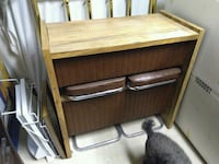Portable Bar with 2 Stools Prospect, 40059