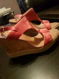New condition women size 7 and 1/2 coach brand wed Winnipeg, R3M 2K4