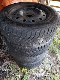 4 winter tires 205/60R14 Terrebonne, J6W