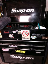 Toolbox, snap on with mechanic tools