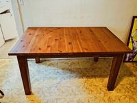 Dining Table - Wood - Extends For More