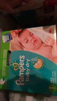 420 size 1 pampers baby dry diapers Mississauga, L5B 4N3