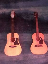 2 full size acoustic guitars  Sterling, 20164