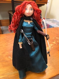 Disney Brave Mérida Doll with Bow & Arrow Montgomery Village, 20886