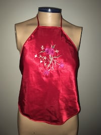 Chinese Halter Tank Top One Size S/M New Montréal, H4G 1M2