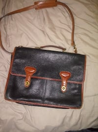 Leather bag null