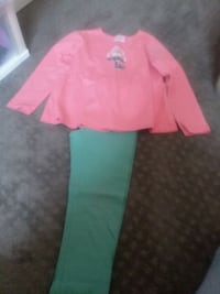 Hanna Anderson girls outfit  Manassas, 20110