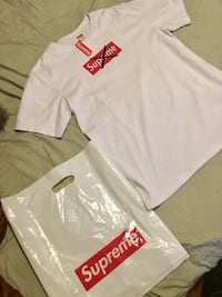 SUPREME T SHIRT LARGE USA