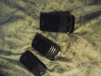 3 blackberry phones 2 Telus 1 Rogers and charger Toronto, M4E 2W1