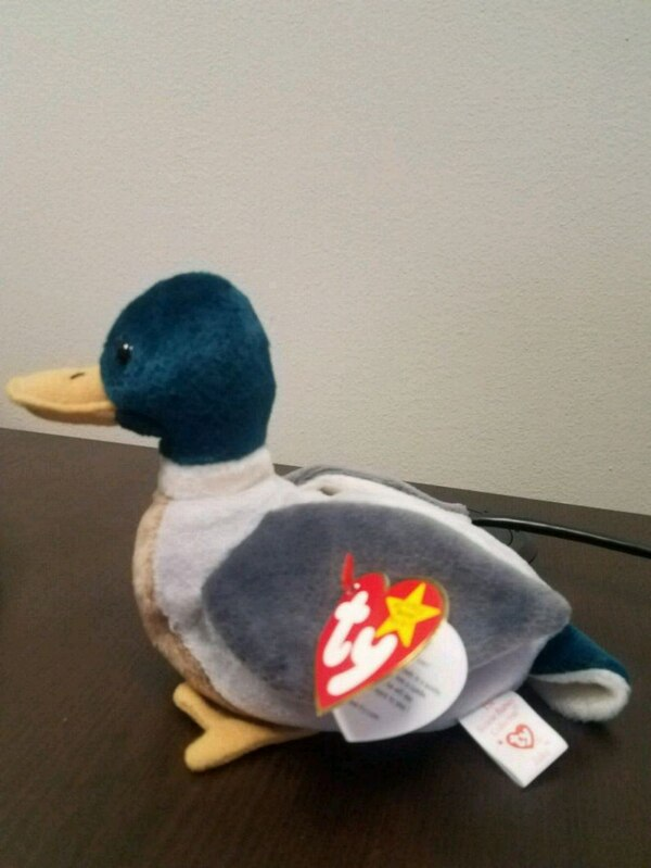 6e9a88b9436 Used Jake TY Beanie Baby rare - multiple errors for sale in Woodstock -  letgo