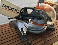 RIDGID 15 Amp 10 in. Dual Bevel Miter Saw with Laser Los Angeles, 90012