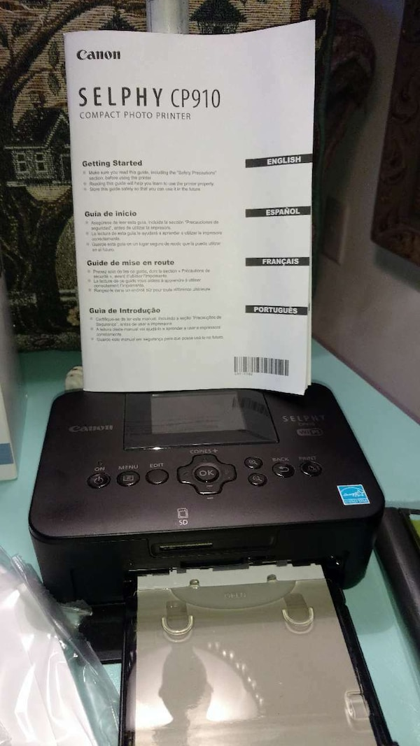 Used Canon Selphy Cp910 Compact Photo Printer 5 For Sale In