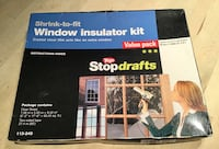 Shrink-to-Fit Window Insulator Kit - Unopened box Calgary, T3E 2S9