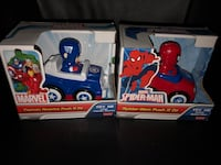 NEW!! MARVEL Push N Go Cars Holland, 49423