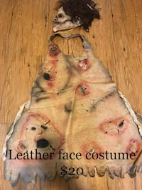 Adult leather face Halloween costume  Jamestown, 14701