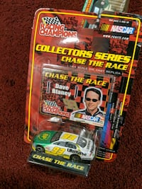 Racing Champions NASCAR collector's series car diecast pack Shermans Dale, 17090