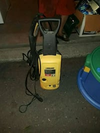 yellow and gray pressure washer 86 mi