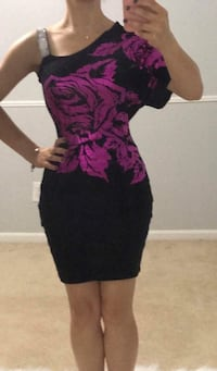 women's black and purple dress Sterling Heights, 48312
