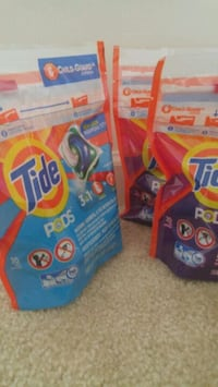 100 Tide pods - 5 packs of 20 each Rockville